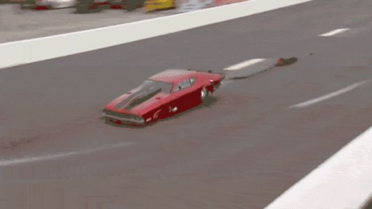 This Is What Happens When a Drag Racer's Parachutes Fail
