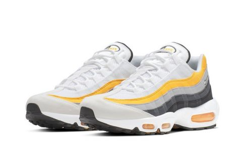 """Nike's Latest Air Max 95 Gets Covered in """"Amarillo"""""""