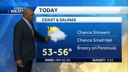 Light to Moderate Rain and Snow Showers Today
