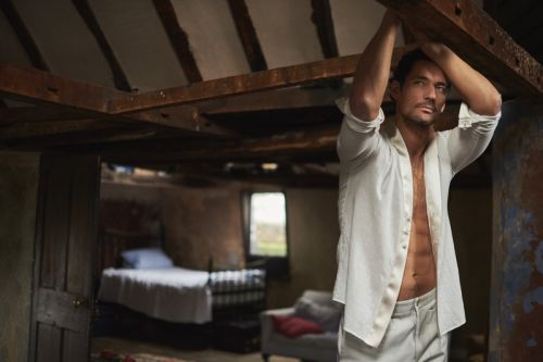 David Gandy Reunites with Prestige for New Cover Shoot