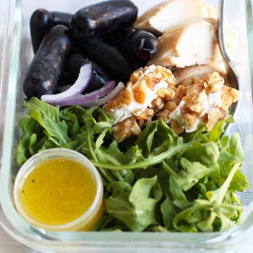 Meal Prep Chicken and Grape Salad