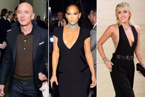 Jeff Bezos, Jennifer Lopez, Miley Cyrus and more at Tom Ford's NYFW 2020 show
