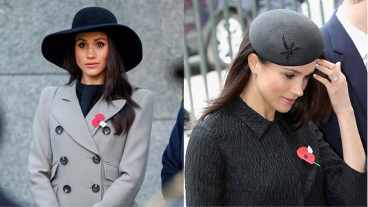 Meghan Markle Wore a Thing: Double Hat Edition