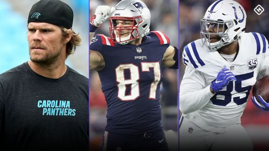 Fantasy Injury Updates: Greg Olsen, Rob Gronkowski, Eric Ebron, more affecting Week 6 TE rankings