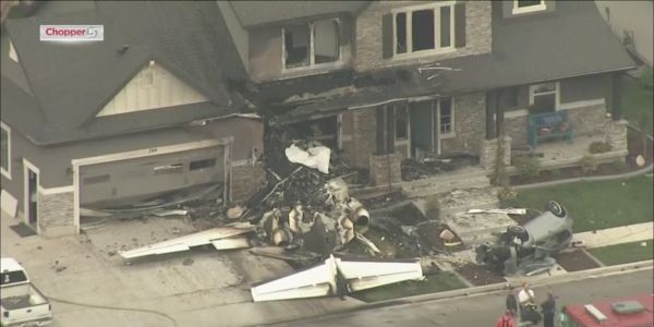 Man dies after crashing plane into his home following a fight with his wife