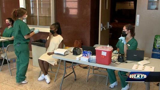 JCPS opens 3 new vaccine clinics in effort to vaccinate more students