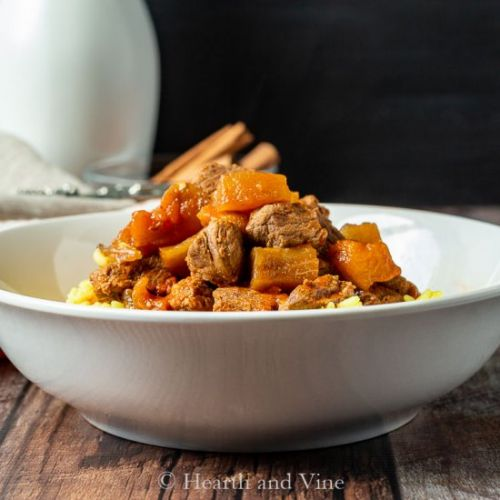 Eggplant and Beef Stew