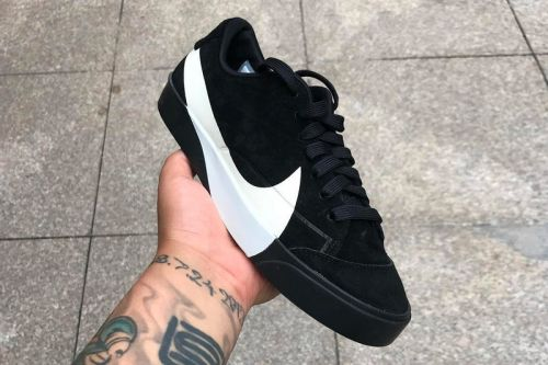 Nike's Upcoming Blazer Low Is Dominated by Oversized Swooshes
