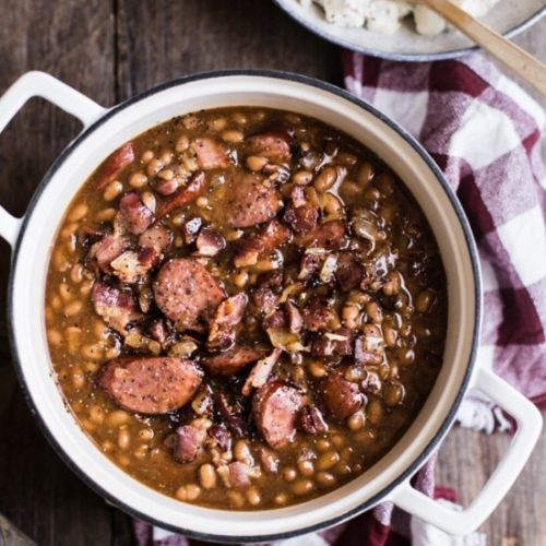 Dressed Up Baked Beans