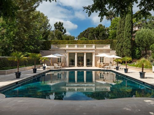 Rupert Murdoch's son just bought a $150 million Los Angeles estate, shattering California's sales record. Take a look at the property, which has a 26-room mansion and a secret underground tunnel