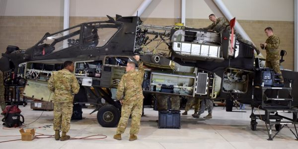 A small part is causing big problems for the US Army's Apache attack helicopter fleet