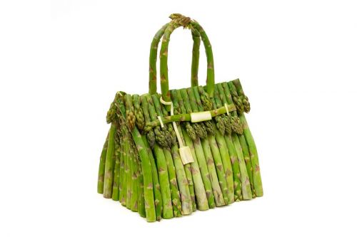 Ben Denzer and Hermès Recreate the Birkin Bag Using Only Fruits and Vegetables