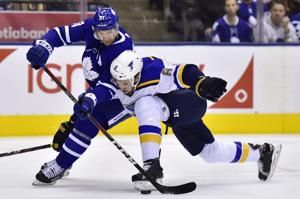 O'Reilly, Allen lead Blues past Maple Leafs 4-1