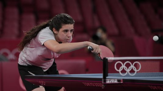 Hend Zaza of Syria, Olympics' Youngest Athlete, Loses in Table Tennis
