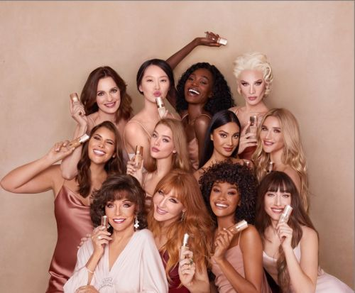 Joan Collins shines in new Charlotte Tilbury foundation campaign
