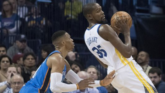 Kevin Durant: Heated exchange with Russell Westbrook is 'just ball'