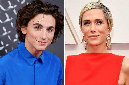 'SNL' announces final 2020 hosts: Kristen Wiig and Timothée Chalamet