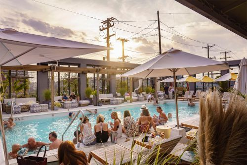 The summer's hottest beachside club and pool party is in Queens