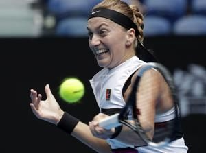 The Latest: Kerber stunned by Collins of US in Melbourne
