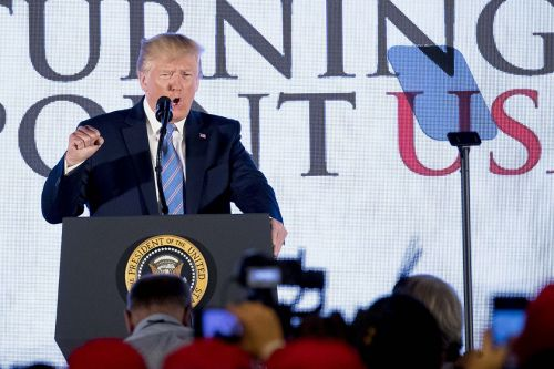 Top Democratic super PAC launches online barrage against Trump on economy