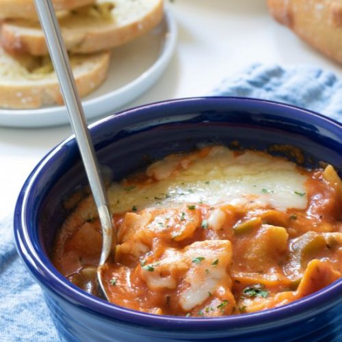 HEALTHY VEGGIE VEGAN LASAGNA SOUP