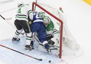 Lightning miss out in OT for once and head to Game 6