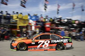 Truex fastest for playoff elimination race at Kansas