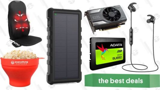 Saturday's Best Deals: Fossil Accessories, Cheap SSD, Solar Battery, and More