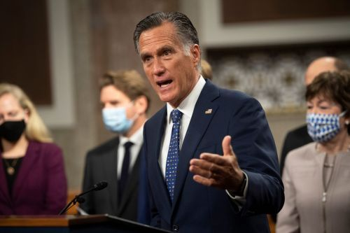 Mitt Romney defends Liz Cheney from GOP critics, saying she 'refuses to lie' about the 2020 presidential election