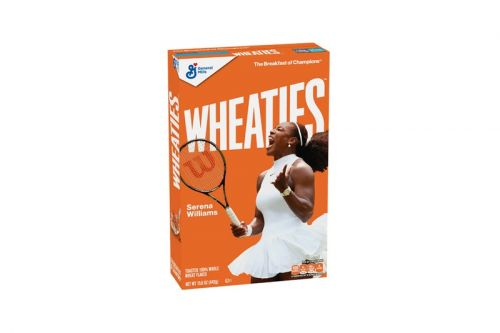 Serena Williams Lands Her Own Wheaties Cereal Box
