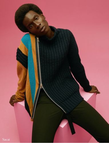 Adonis Models Fall Knits from Holt Renfrew