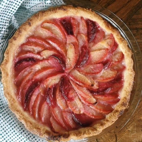Plum Ginger Tart