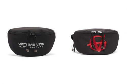 Channel Haut Couture or Anarchy With Vetements' Statement-Making Belt Bags