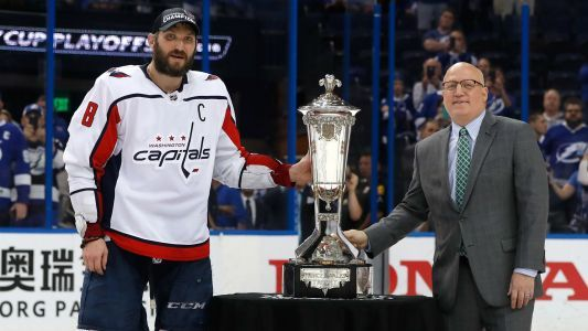 Alex Ovechkin overcome with emotion of first Stanley Cup Final trip: 'It's unbelievable'