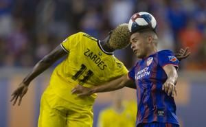 Zardes leads Crew over FC Cincinnati 3-1