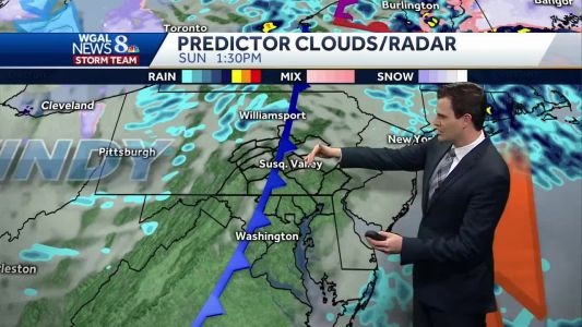 Turning wet, then windy this weekend