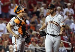 Adams lifts Cardinals past Giants 5-3