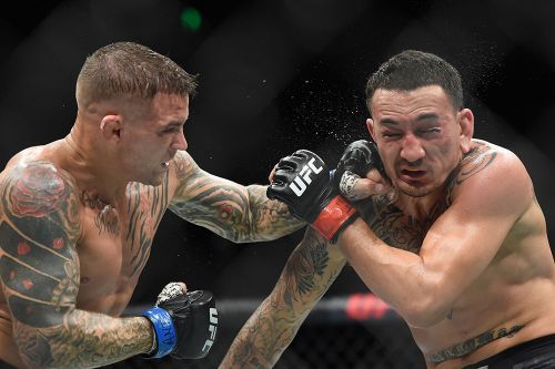 As promised, Dustin Poirier's UFC 236 fight kit up for auction for charity