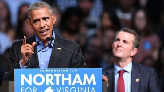 'Our Democracy Is At Stake,' Obama Says Of Virginia Race For Governor