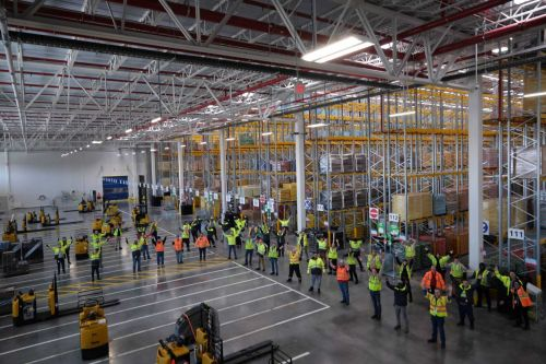 Lidl opens huge Cecil County warehouse as demand for food explodes