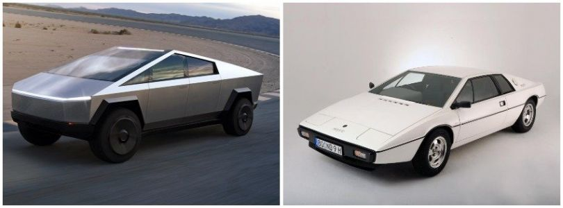 Tesla's Cybertruck is inspired by a 1977 James Bond spy car which Elon Musk loved so much he bought the real one in 2013