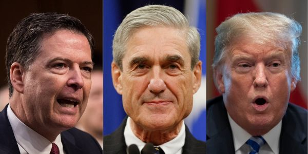 'We're in the fourth quarter': James Comey says Mueller may be about to finish his investigation into Trump