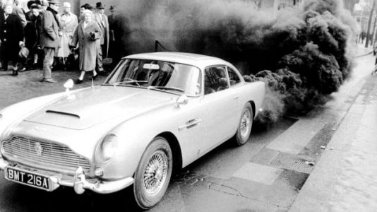 The Stolen Aston Martin DB5 From Goldfinger Might Be at a 'Specific Location' in the Middle East