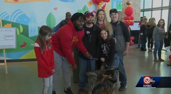 Seeing empty kennels at KC Pet Project brings smile to Chiefs defensive lineman Derrick Nnadi's face