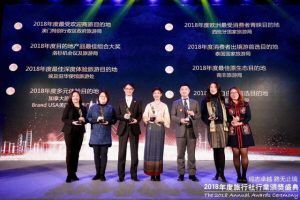 Thailand won the most popular tourist destination by China Travel Agent Magazine