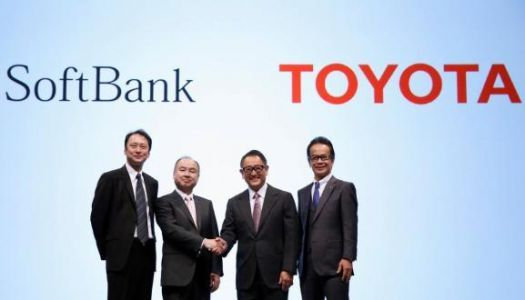Toyota and SoftBank partner to develop self-driving car services