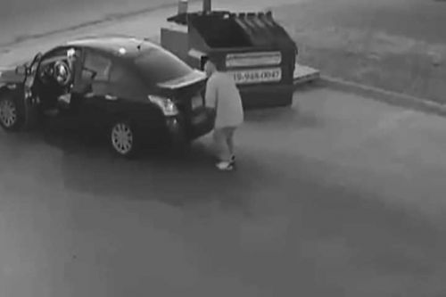 Man in Colorado caught on surveillance video discarding woman's body in dumpster