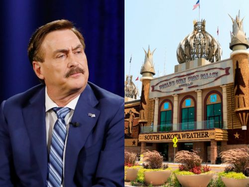 Mike Lindell is holding a rally in South Dakota to promote his voter-fraud website Frank