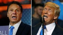 Trump And Cuomo Wage Twitter War Over America's Level Of Greatness