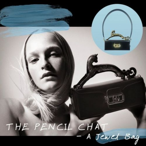 The Pencil Chat - A Jewel Bag